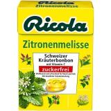 Ricola Zitronenmelisse ohne Zucker 20x50g