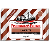 Fishermans Friend Lakritz 24x25g