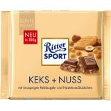 Ritter Sport Keks + Nuss 10x100g