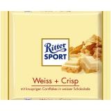 Ritter Sport Weiss + Crisp 10x100g