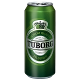 Tuborg Pilsener 12x1l inklusive Pfand