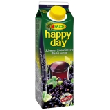 Happy Day Schwarzer Johannisbeernektar Black Currant 6x1.00l
