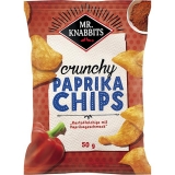 Mr.Knabbits Paprika Chips 24x50g