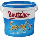 Bautzner Senf mittelscharf 5kg