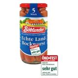 Böklunder Echte Land-Bockwurst 12x250g