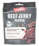 Zimbo Beef Jerky Pepper Bio