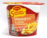 Maggi 5 Minuten Terrine Spaghetti in cremiger Schinkensauce