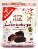 G&G Gefüllte Lebkuchenherzen mit Zartbitterschokolade