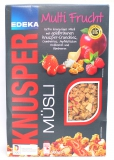 Edeka Knusper Müsli Multi Frucht 500g