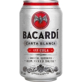 Bacardi Carta Blanca and Cola 12x330ml inklusive Pfand