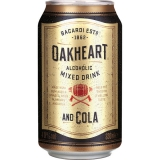 Bacardi Oakheart Mixed Drink and Cola 12x330ml inklusive Pfand