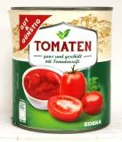 G&G Tomaten ganz und geschält mit Tomatensaft 800g