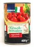 Edeka Kirschtomaten ungeschält mit Tomatensaft 400g