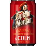 Captain Morgan & Cola 12x330ml inklusive Pfand