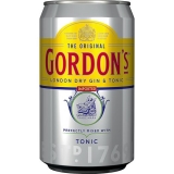 Gordons London Dry Gin Tonic 12x330ml inklusive Pfand