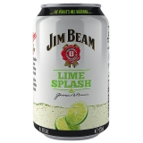 Jim Beam Lime Splash 12x330ml inklusive Pfand