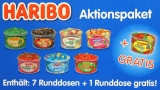 Haribo Aktionspaket 7+1 Dosen